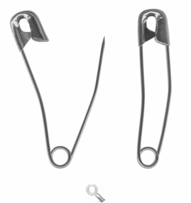 Curved Basting Pins by Havel's