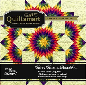 Bitty Broken Lone Star  Snuggler Pack by Quiltsmart