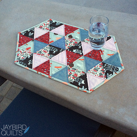 Picnic Placemat Tutorial From Jaybird Quilts