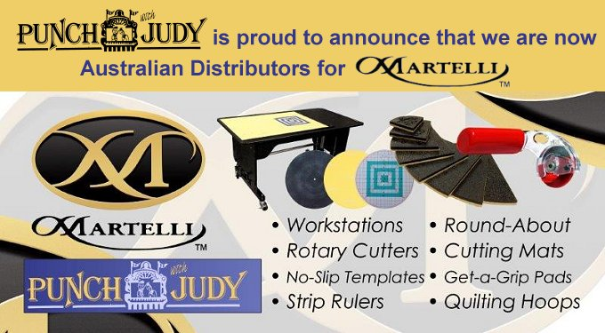 Punch with Judy are Australian Distributors for Martelli