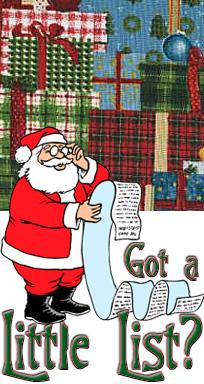 Santa's Little List