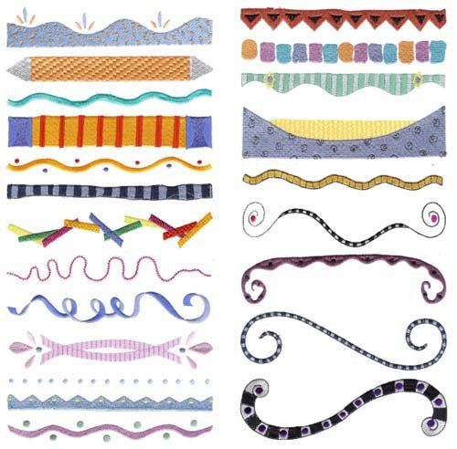 Pictures Of Easy Designs For Borders In Projects Kidskunstinfo