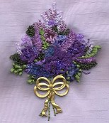 Punchneedle Flower Bouquet