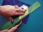 Seam Allowance Rulers - add a quarter or eigth inch and trim points