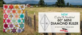 Diamonds Are Forever - Judy's QuiltTech Online Classes
