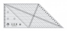 45 Degree Diamond Dimensions Quilt Ruler - Creative Grids