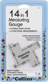 14 in 1 Measuring Gauge by Collins