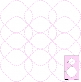 DM Quilting - Soft Square Templates