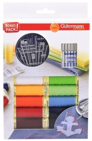 Gutermann Sew-All Thread Set plus Sewing Needles