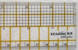 "24"" x 2"" Ruler Imperial and Metric by Kearing"