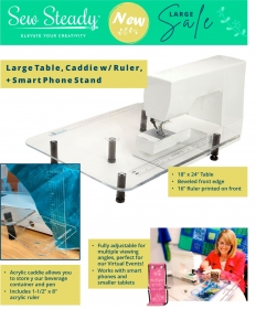 Sew Steady Large Table Package - May/June Special