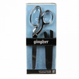"Gingher Left Hand Knife Edge Dressmakers Shears 8"" G-8L"