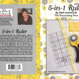 5-in-1 Home Dec Ruler by Pam Damour