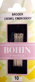 Bohin Crewel/Embroidery Needles