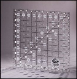 "10.5"" x 10.5"" Square Ruler - Creative Grids"