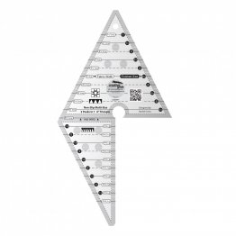 2 Peaks in 1 Triangle Quilt Ruler - Creative Grids