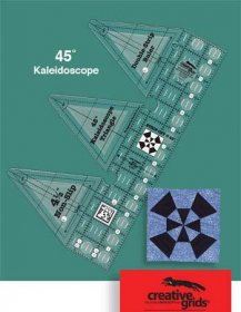45° Double Strip Kaleidoscope Ruler - Creative Grids
