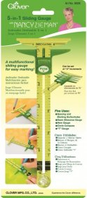 5-in-1 Sliding Gauge (Nancy Zieman) by Clover