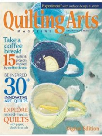 Quilting Arts Magazine - April/May 2013