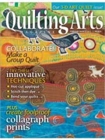 Quilting Arts Magazine - February/March 2013