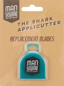 The Shark Applicutter Rotary Cutter Replacement Blades - Man Sewing