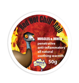 Only Emu Red Hot Chilli Rub - 50g Tub