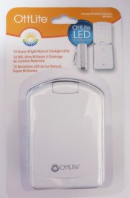 OttLite LED Mini Flip Light with Clip