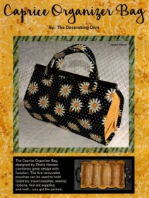 Caprice Organizer Bag - by The Decorating Diva