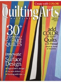 Quilting Arts Magazine - February/March 2014
