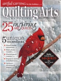 Quilting Arts Magazine - December 2014/January 2015