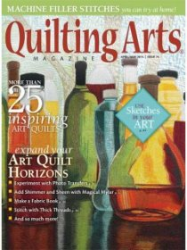 Quilting Arts Magazine - April/May 2015