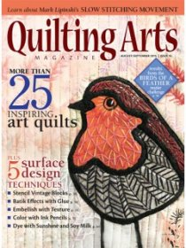 Quilting Arts Magazine - August/September 2015