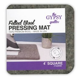 Wool Pressing Mat 4 x 4 by The Gypsy Quilter
