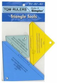 Triangle Tools by TQM Rulers