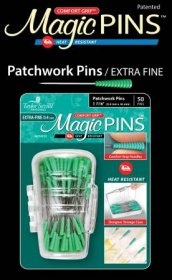Magic Pins in Designer Case Patchwork Extra Fine 50pc by Taylor Seville