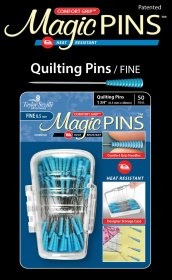 Magic Pins in Designer Case Quilting Fine 50pc by Taylor Seville