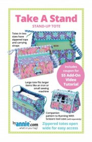 Take a Stand Bag Pattern - By Annie