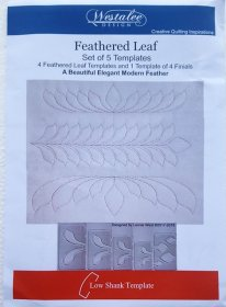 Westalee - Feathered Leaf Set 5 Templates
