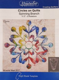 Westalee - Circles on Quilts Spinning Branch 11.5