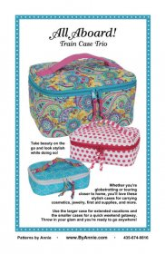 All Aboard! Train Case Trio Bag Pattern - By Annie