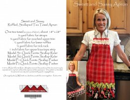 Sweet and Sassy Apron Pattern - Quick Points Ruler