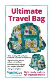 Ultimate Travel Bag Pattern - By Annie