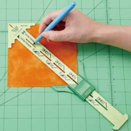 No-Hassle Triangles Gauge by Clover with Nancy Zieman