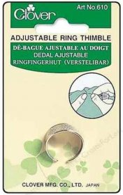 Adjustable Ring Thimble by Clover