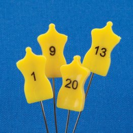 Decorative Numbered Pins