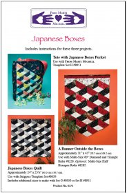 Japanese Boxes from Marti Michell