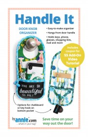 Handle It Door Knob Organizer Pattern- By Annie