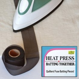 HEAT Press Batting Together - Black 10yd