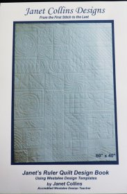 Janet's Ruler Quilt Designs Book   - Janet Collins Designs