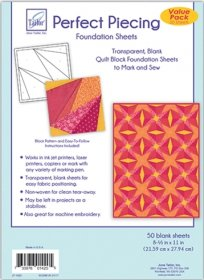 June Tailor Perfect Piecing 50/pkt